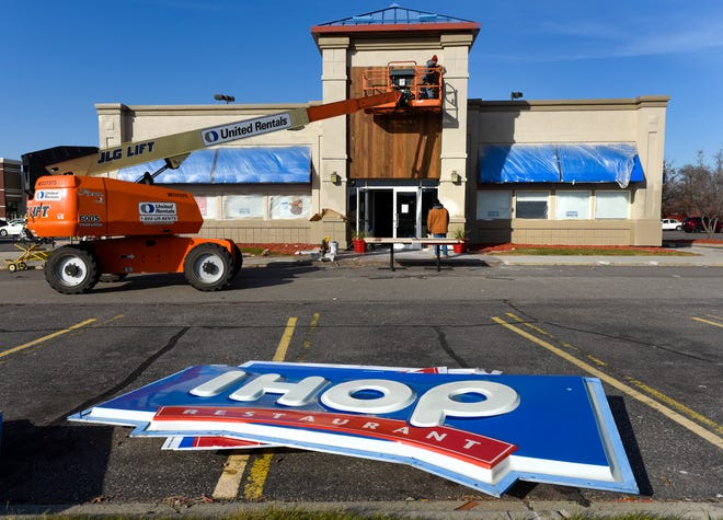 Remodeling continues Tuesday, Oct. 30, on the IHOP Restaurant at 327 2nd Street S in Waite Park. The restaurant is expected to reopen at 7 a.m. Saturday.