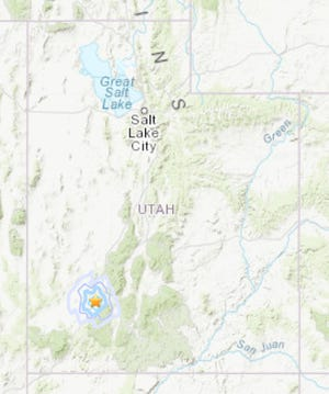 A 3.5 earthquake struck 15 north of Parowan on Oct. 30, 2018.