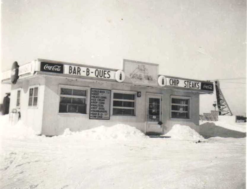 Al and Bette Zurawski built Al's Drive In in 1949 in Plover.