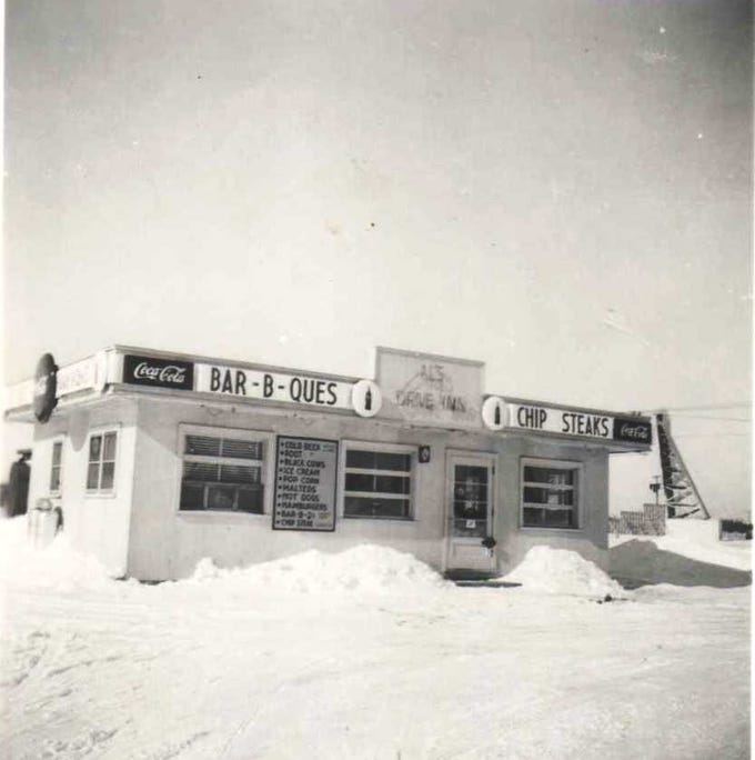 Al and Bette Zurawski built Al's Drive In in 1949 in Plover.