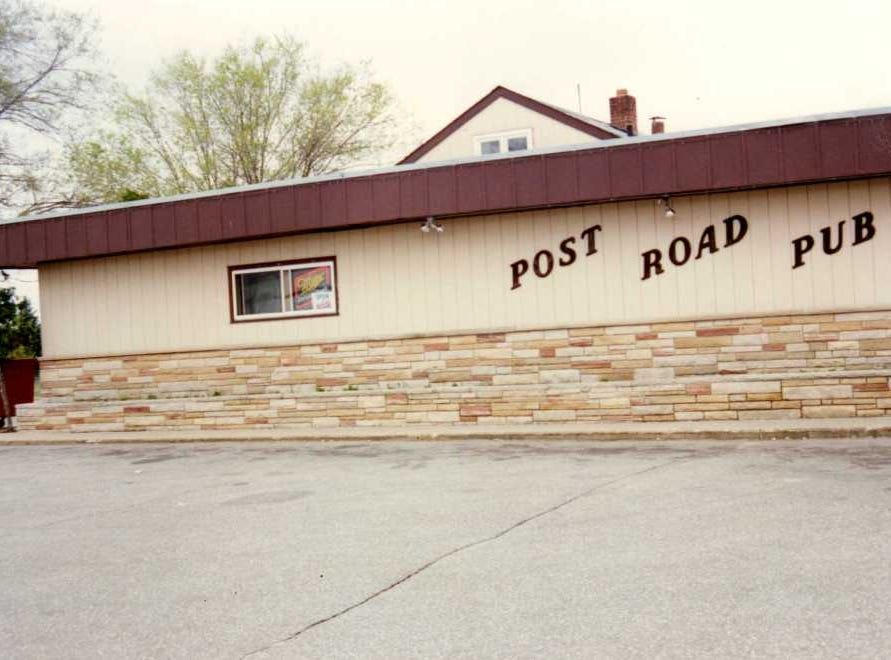 Al's Drive In turned into Al & Bette's Bar and eventually became Post Road Pub.