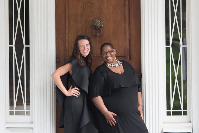 """Singers Colleen Nixon, left, and Avis Berry are the the stars on Sunday during the """"Moon Over Maclay"""" jazz show."""