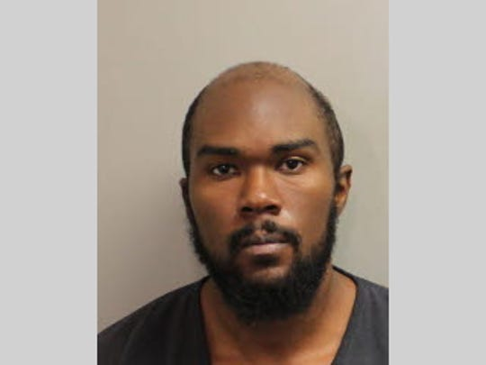 James Bouie, 26, faces charges of grand theft, possession of burglary tools and resisting arrest.