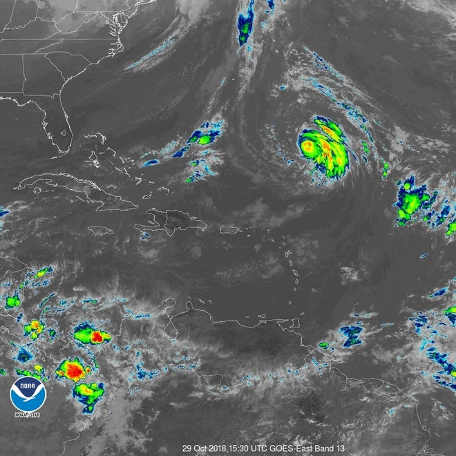 Hurricane Oscar 6 a.m. Oct. 30, 2018