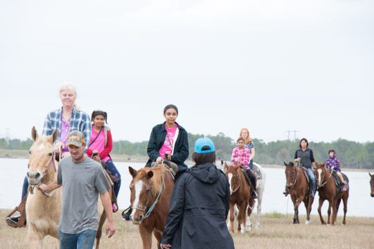 There will be horseback riding and lots of other free activities at the 2018 Bonfire and Hayride at the McCarty Ranch Preserve