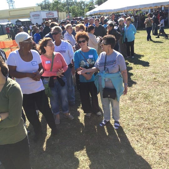 The Community Thanksgiving Dinner will be set up at the corner of Orange Avenue and 9th Street. Volunteers are needed between 10:30 a.m. and 3:30 p.m. Go to the volunteer tent for your assignment.