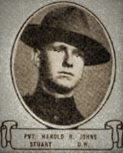 Pvt. Harold R. Johns.