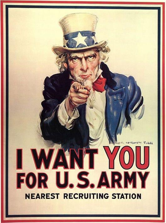 1107 YNMC HV 1 Enlistment Army