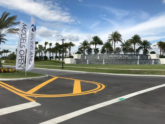 Valencia Cay, a gated community for people age 55 and older, is the first subdivision in the Riverland development in western Port St. Lucie.