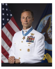 Medal of Honor recipient Master Chief Special Warfare Operator Britt Slabinski will be honored in a special ceremony at this year's U.S. Navy UDT-SEAL Museum's Muster.