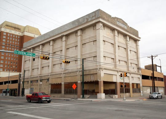 The Krupp building at 117 W. Overland Ave. at Santa Fe Street in Downtown El Paso is one of nine Downtown buildings owned by William Abraham that may be sold in a Nov. 6 court auction.