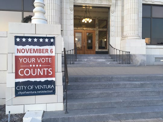 Nov. 6 is Election Day, it's the first time voters in Ventura will select a candidate by district.