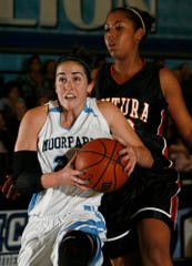 Sidney Dobner, left, starred at Moorpark College.