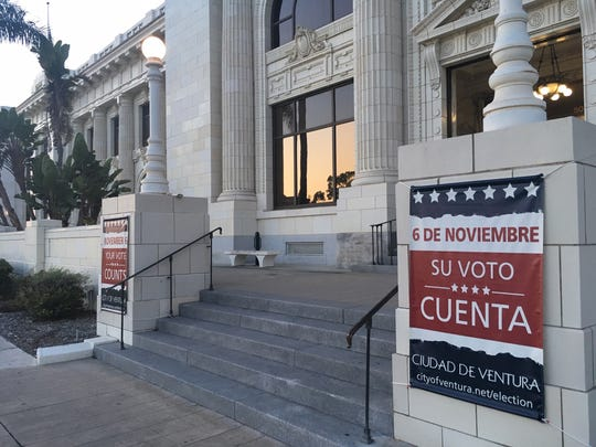 Ventura City Council's first district elections take place on Nov. 6.
