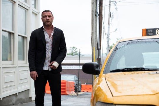 "Liev Schreiber as Ray Donovan in RAY DONOVAN (Season 6, Episode 01, ""Staten Island, Part One""). This scene was shot on Nyack's Main Street. The village stands in for Staten Island in the current season."
