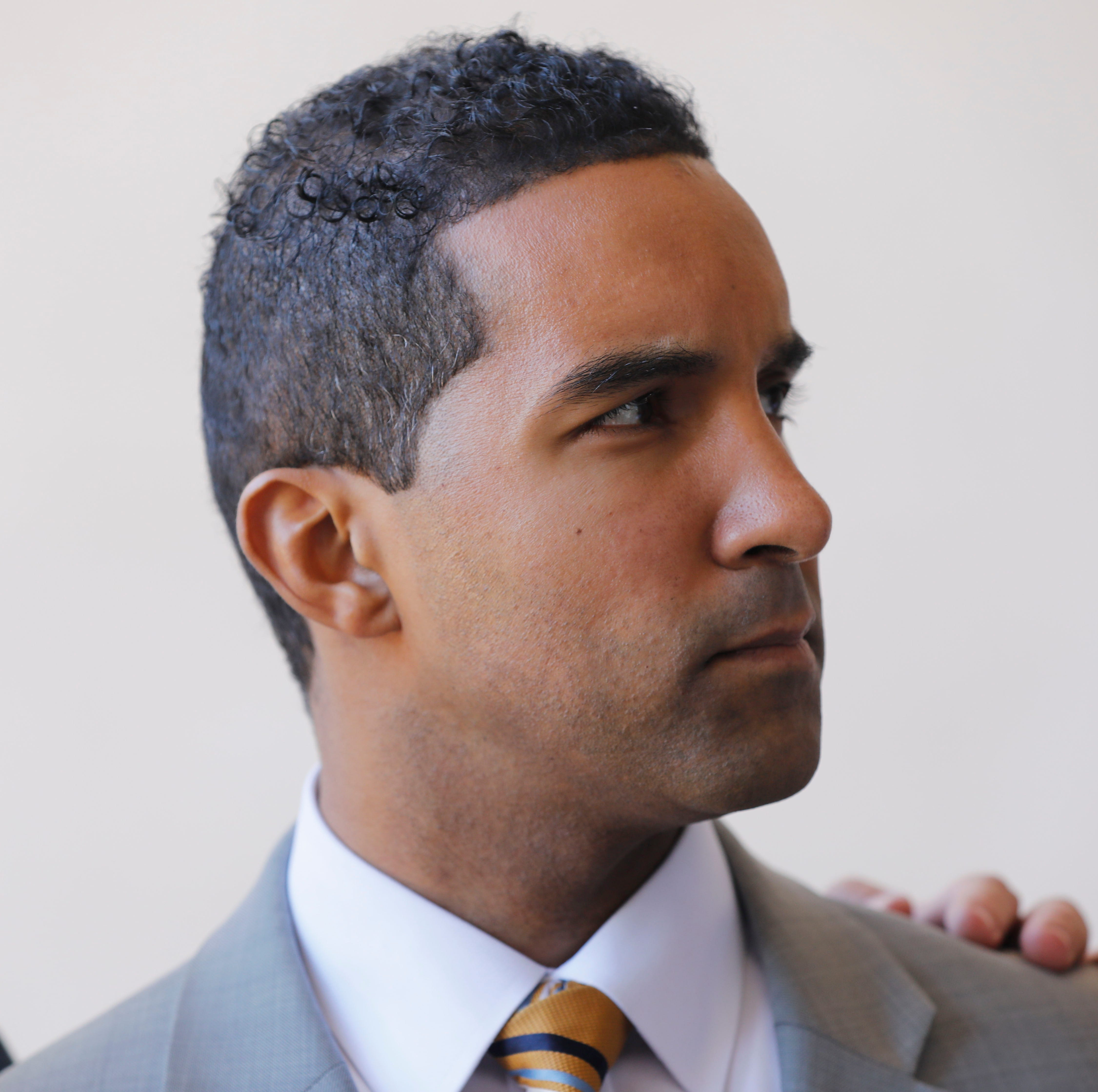 Mayor Thomas, accused of dipping into Mount Vernon funds to pay legal fees, clams up