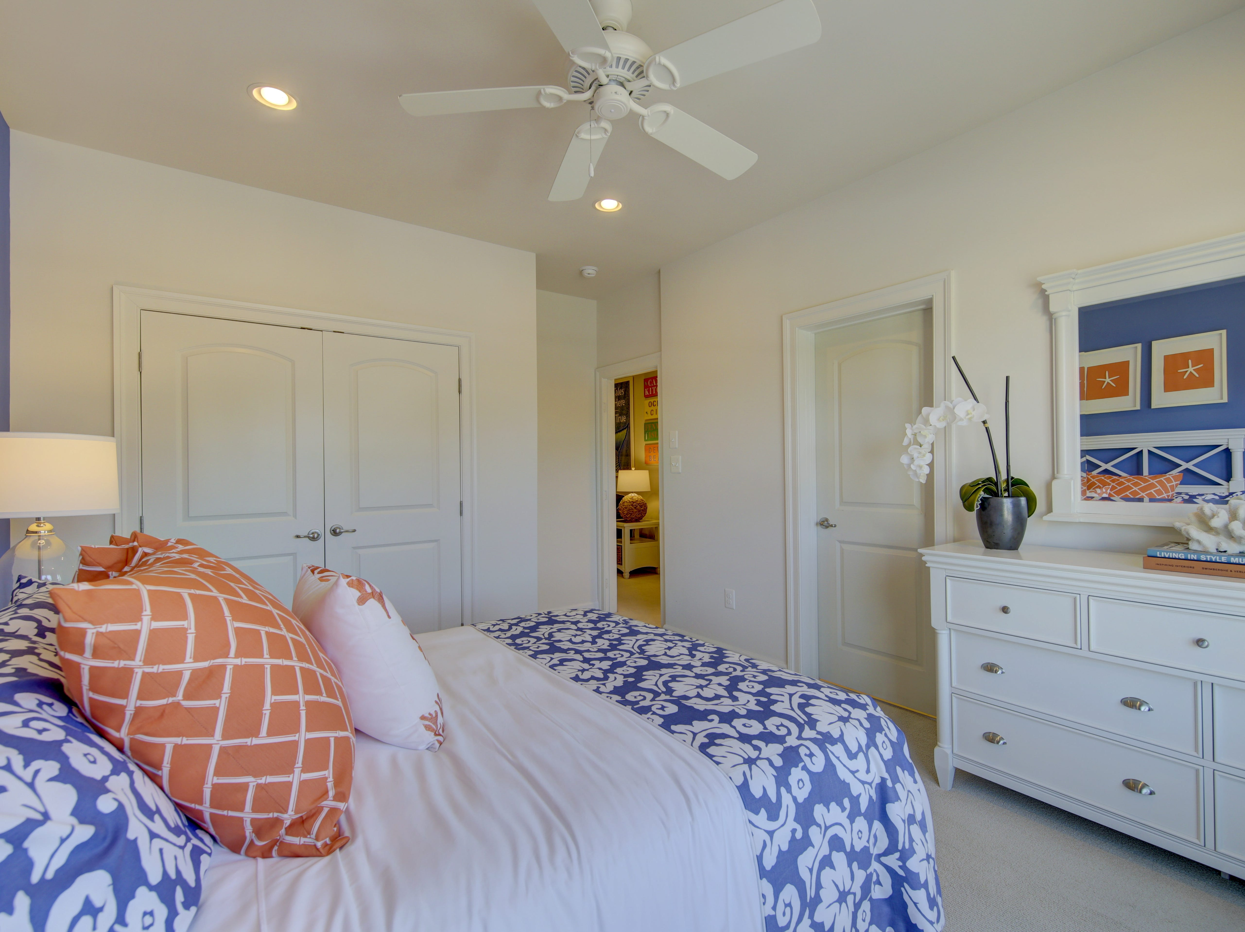 The model home at The Overlook in Selbyville has four bedrooms.