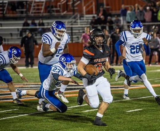 Springtown's breakout season has been spearheaded by junior running back Cameron Rickett.