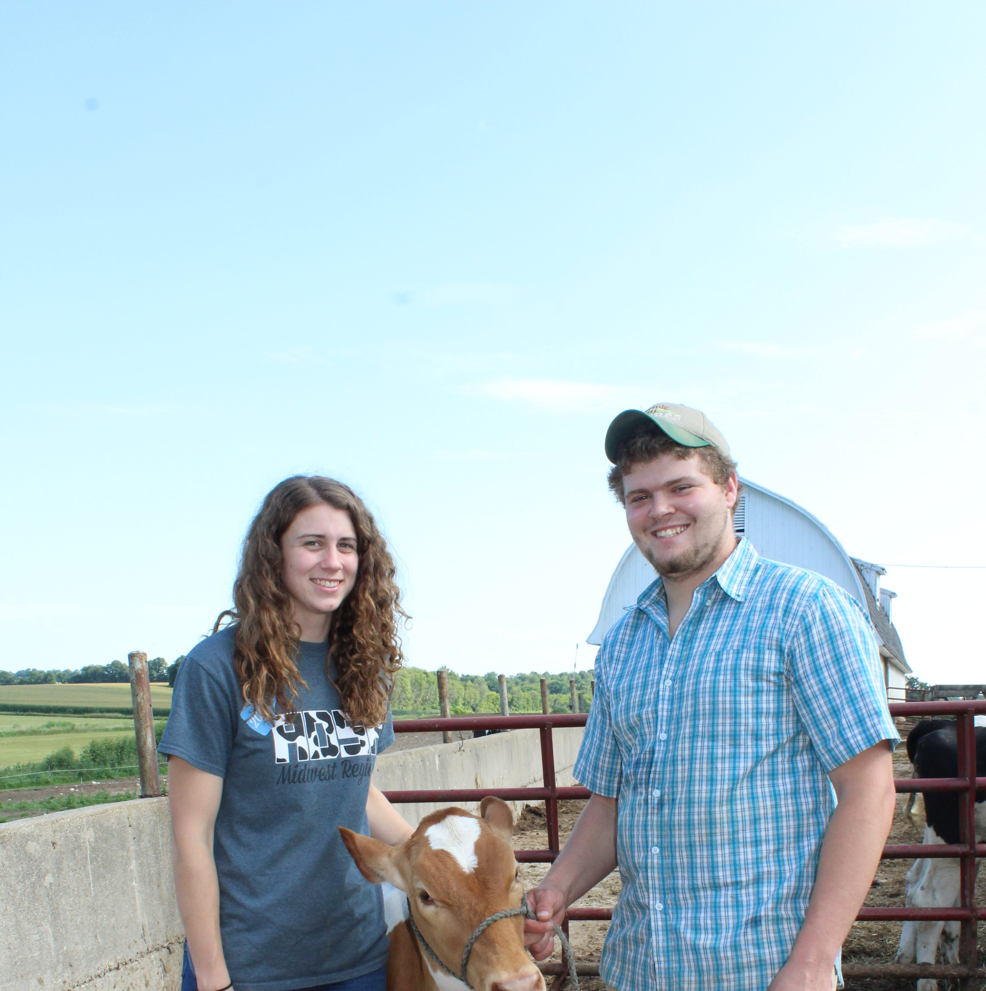 Young farmer Evan Schrauth eager to meet challenges in dairy industry