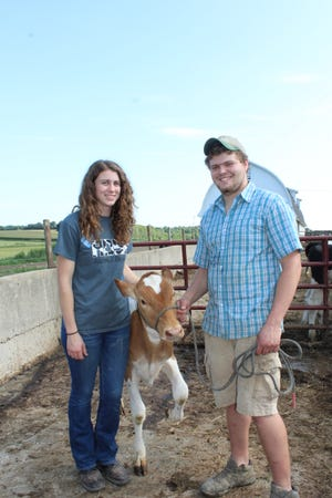 Evan Schrauth and Taylor Klein say while they are nervous about how everything will turn out in their latest venture in the dairy industry, the 22 year olds are excited about the opportunity and doing something they love.