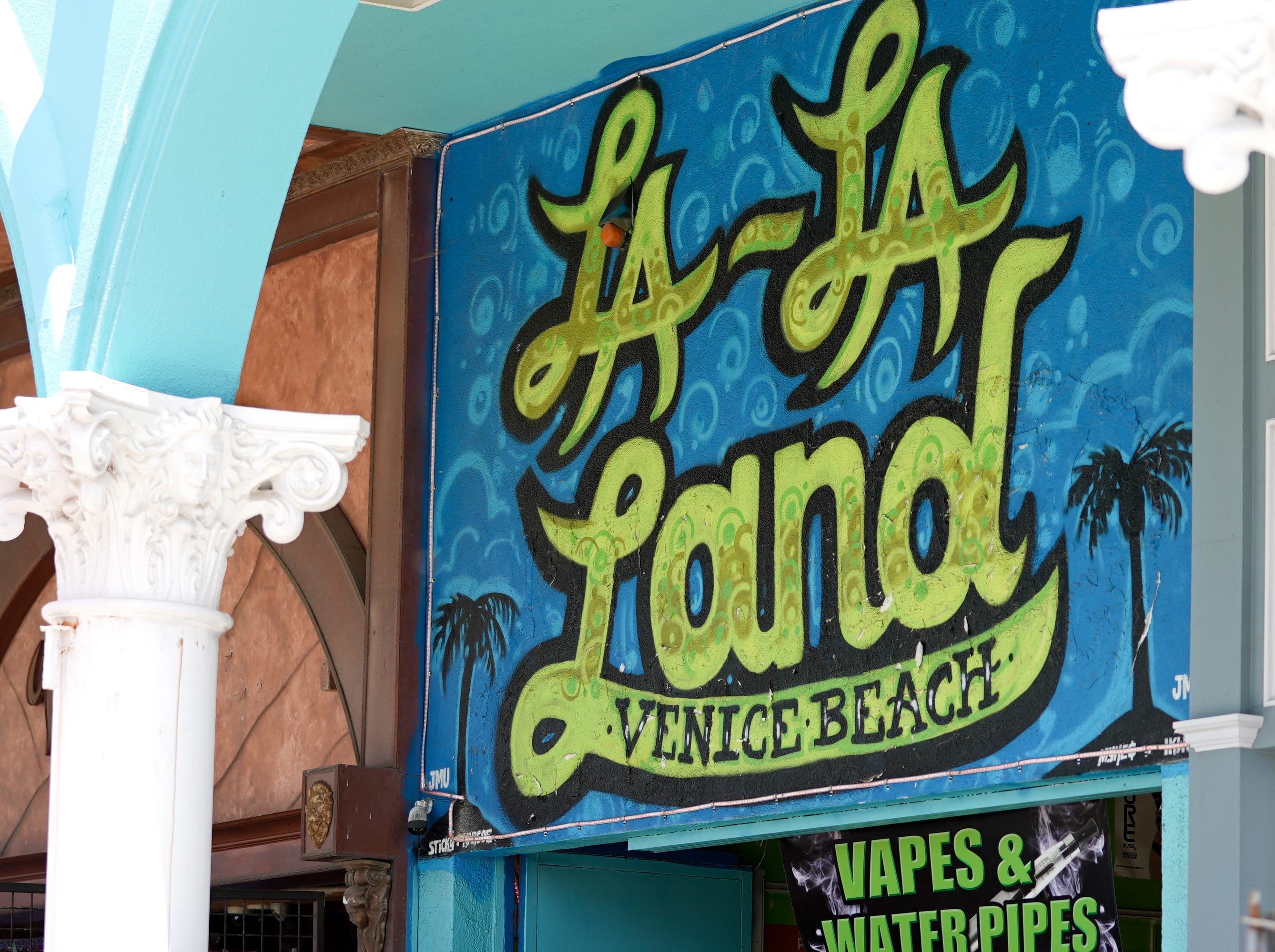 A local gift store in Venice Beach, named after the recent hit movie.