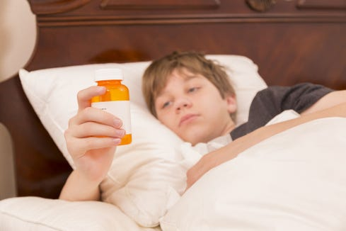 Doctors disagree on what medication is safest for teens with sleep problems.