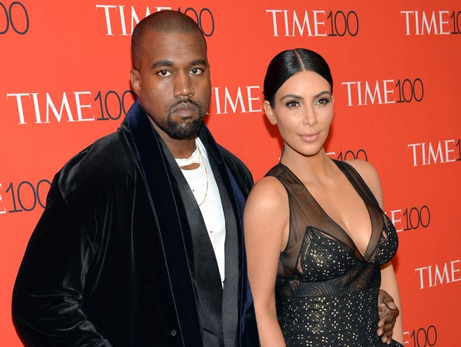 "Kim Kardashian West, seen here at the 2015 Time 100 gala with husband Kanye West, says she knows he doesn't always get across what he's trying to say. ""We're working on expressing that,"" she told CNN's Van Jones."