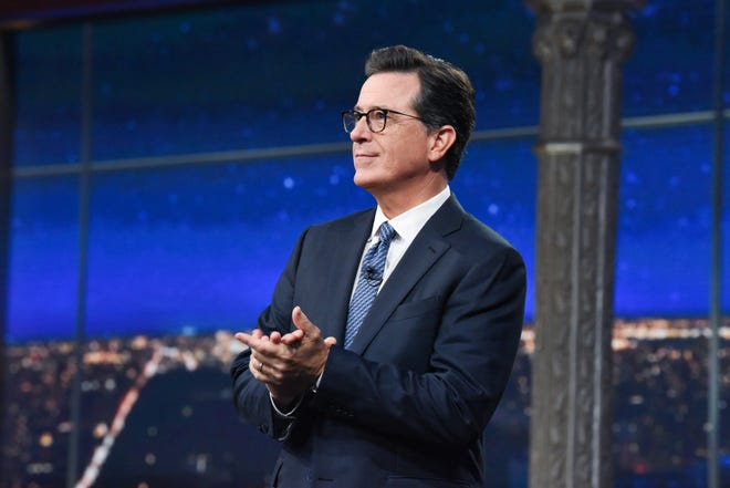 """Late Show"" host Stephen Colbert"
