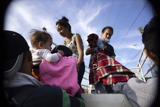Usp News Migrant Caravan A Mex Oa