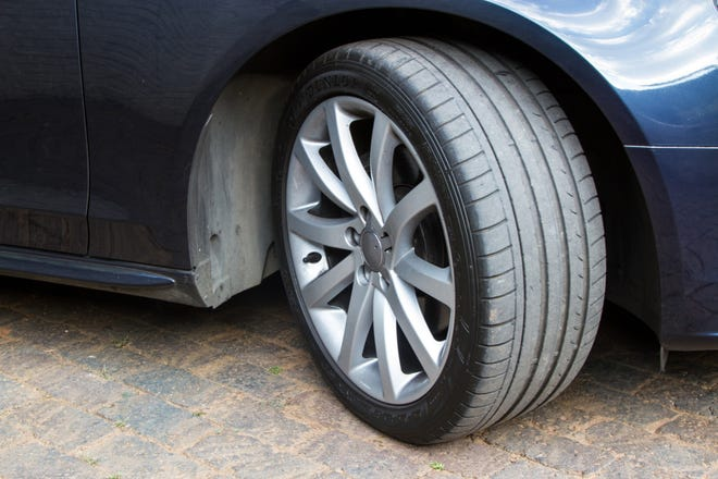 Did you know cars have at least three separate pressure ratings listed: front,  rear and spare.