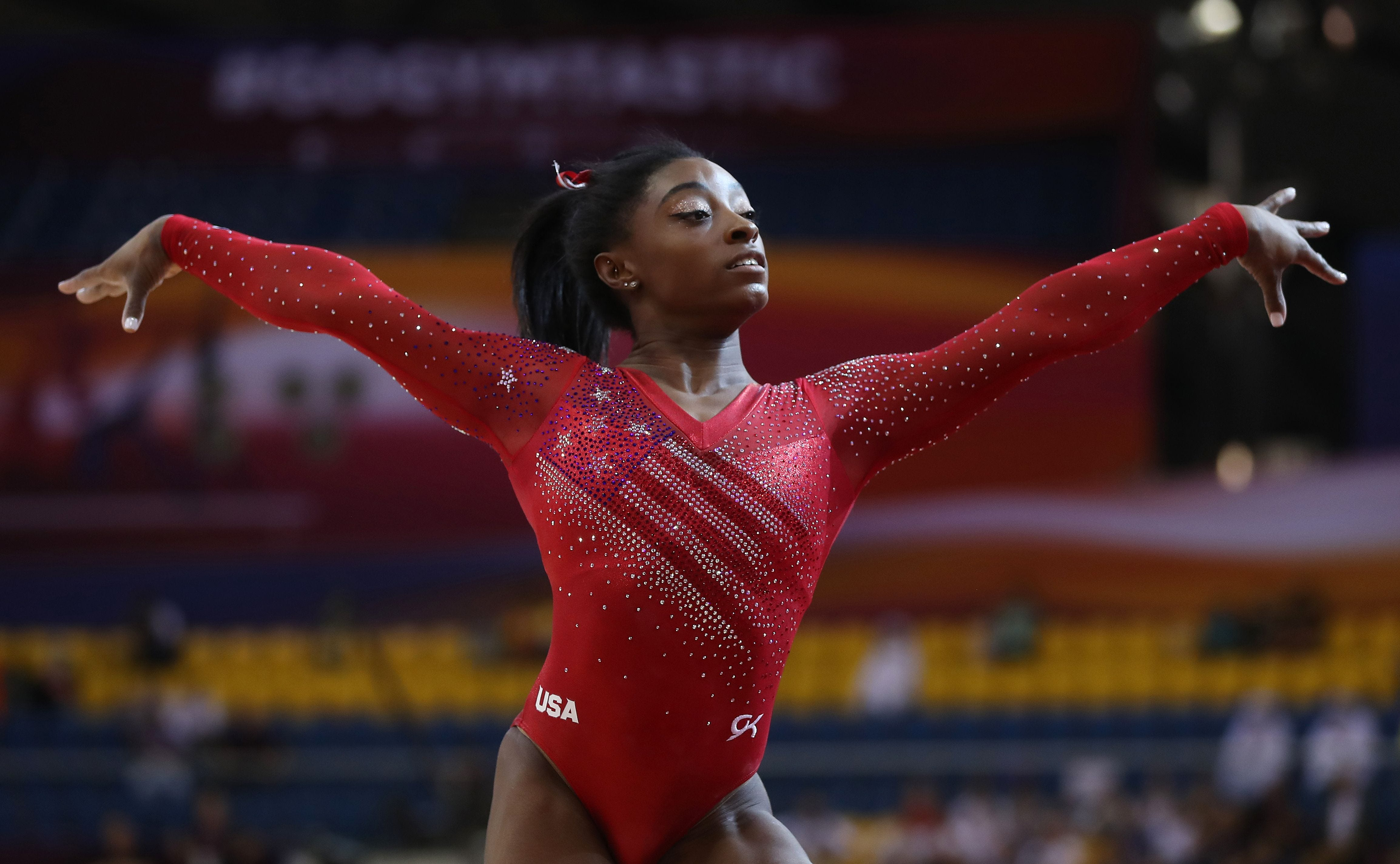 Report: USA Gymnastics never asked Simone Biles if she'd been abused by Larry Nassar