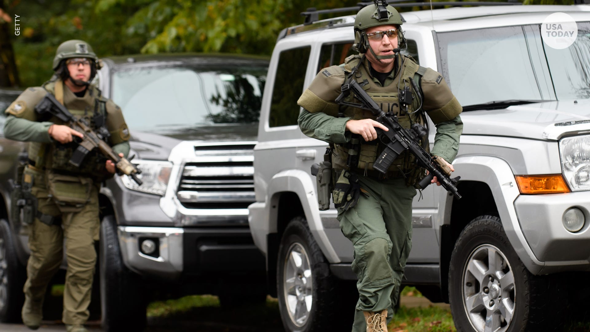 Pittsburgh shooting scanner: Suspect saying 'all these Jews need to die'