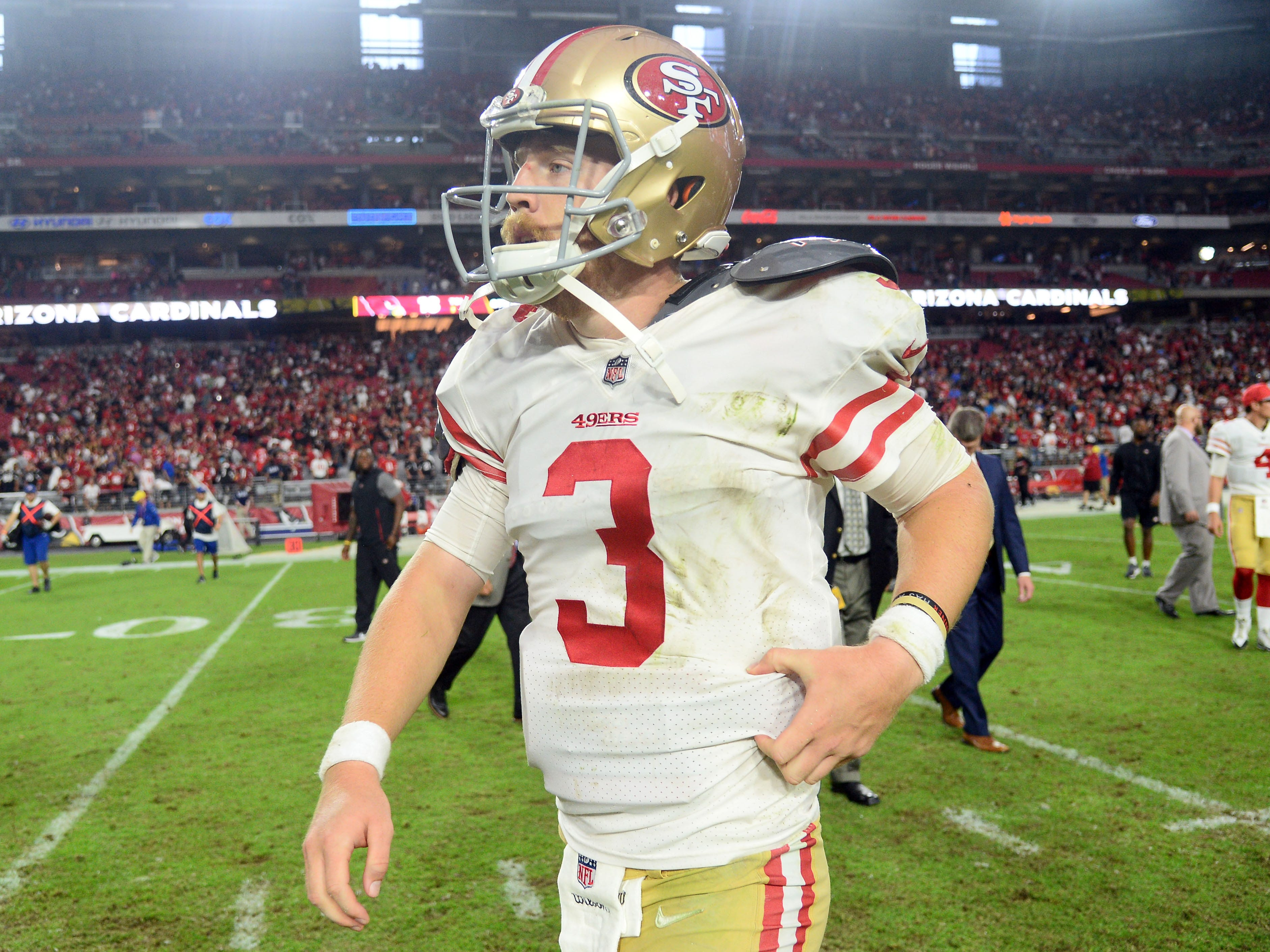 31. 49ers (31): Trick — unluckily gutted team continues to make you think every week that they just might fight their way to a second victory.