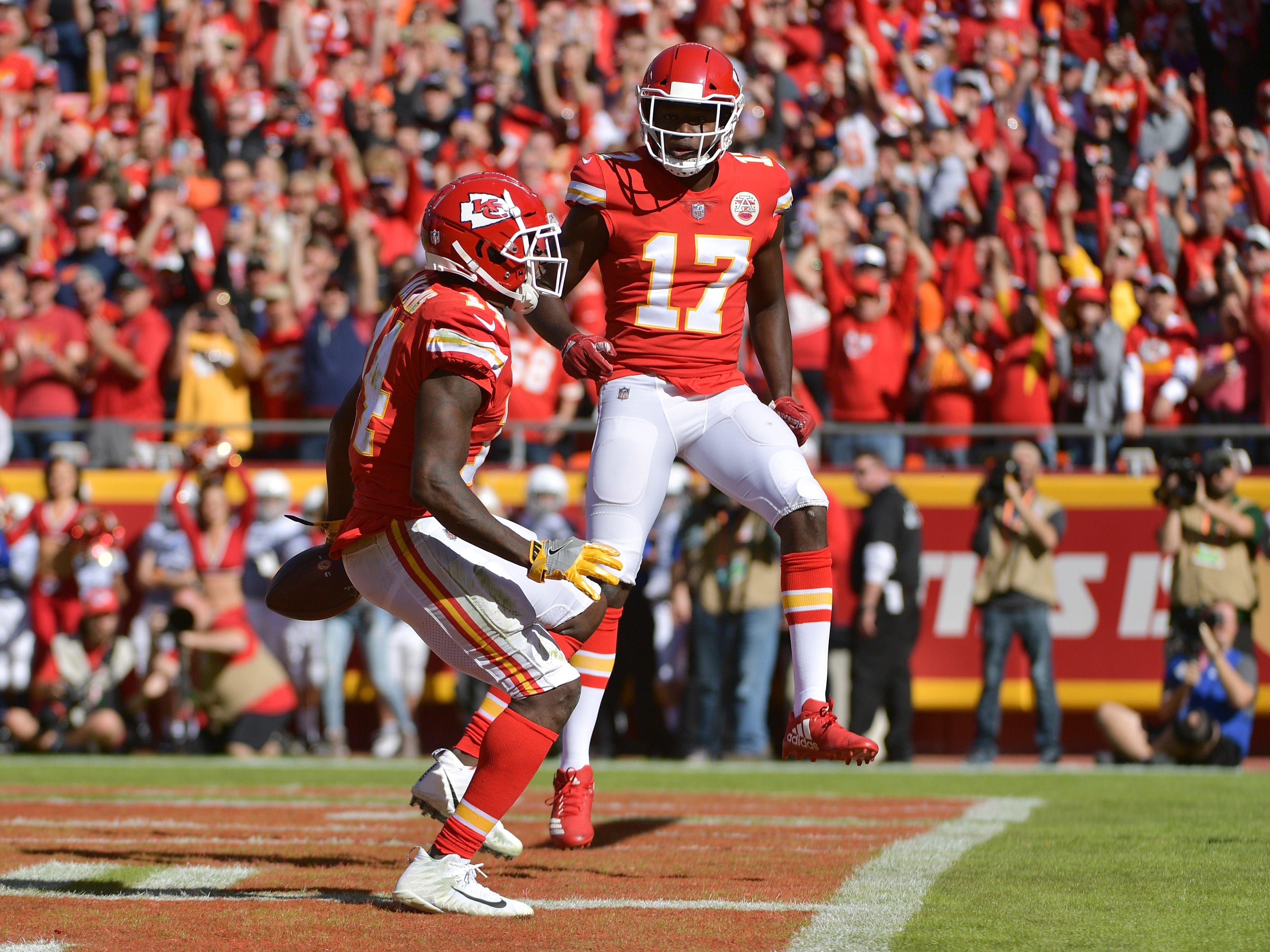 4. Chiefs (4): Treat — next two opponents (Browns, Cardinals) a combined 4-11-1. K.C. should keep treating fans to wins leading up to Mexico date with Rams.