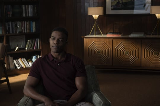 """Stephan James as Walter in """"Homecoming."""""""