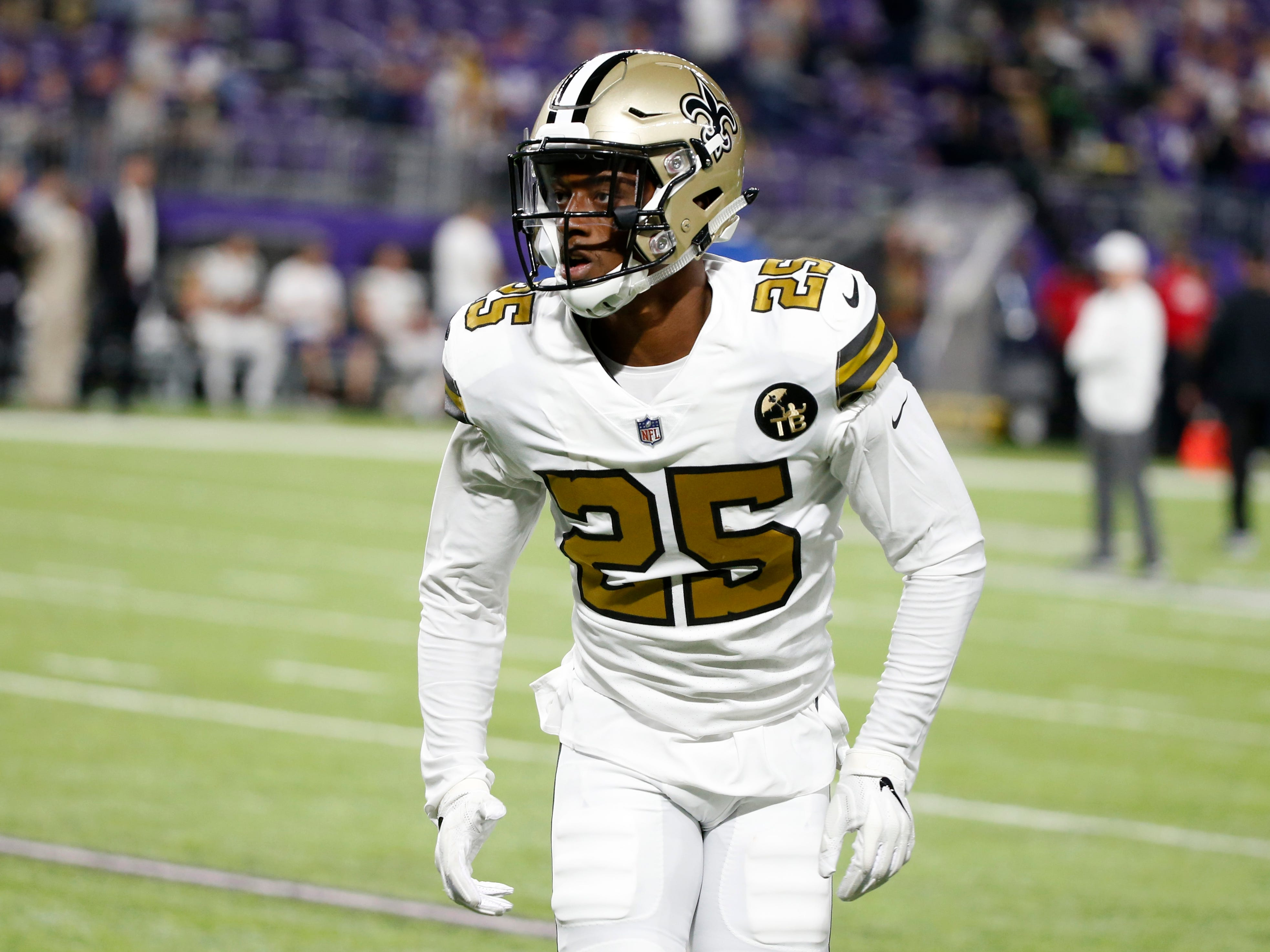 """2. Saints (2): Treat — Eli """"Candy"""" Apple made team-high nine tackles in New Orleans debut. New club thinks he'll fit in nicely with five fellow Buckeyes."""