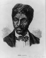 Dred Scott brought the first lawsuit in which the Supreme Court denied blacks citizenship. Scott sued for his freedom when he was enslaved after living free in Missouri. His owners eventually freed him.