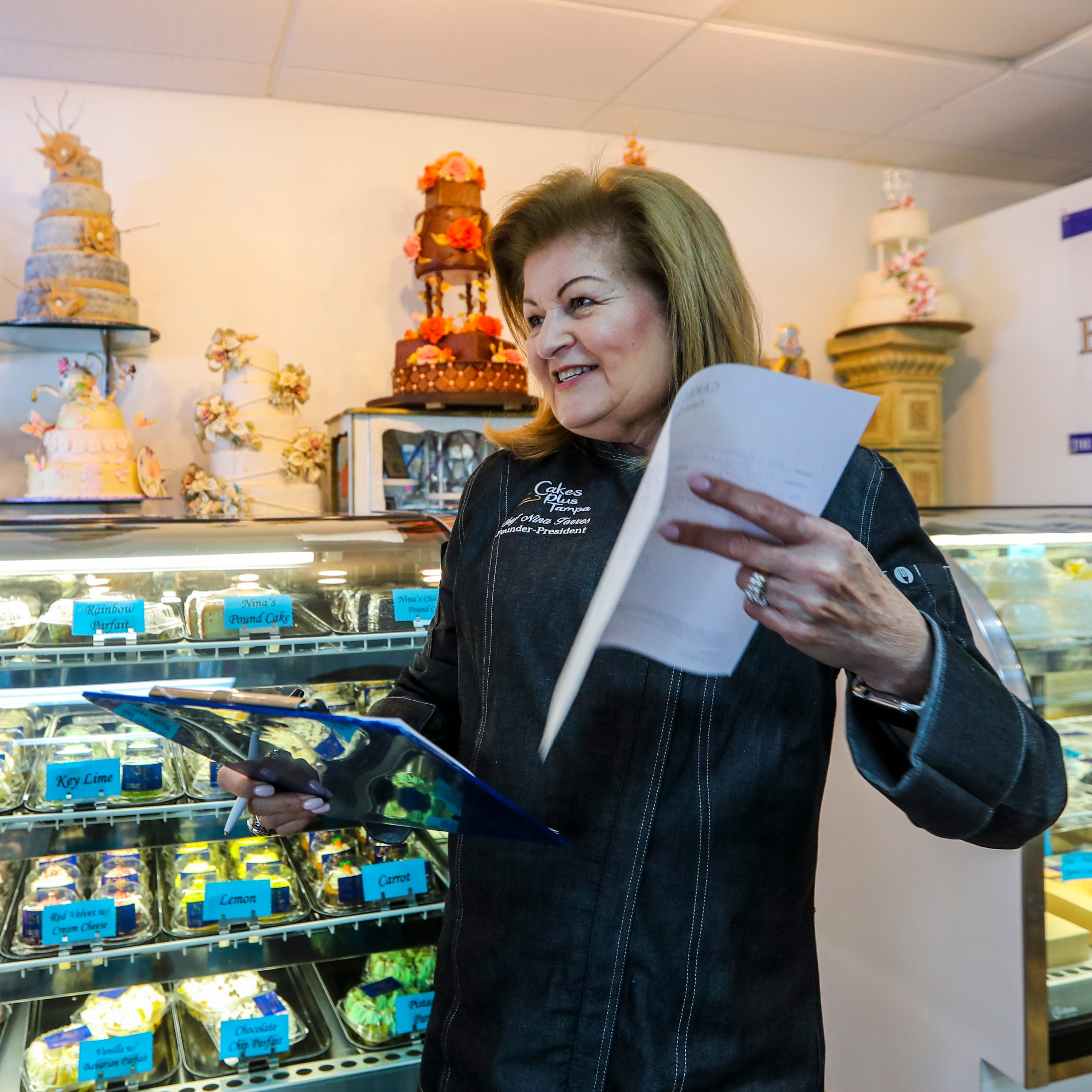 After 26 years, Cakes Plus owner Nina Torres is tasting sweet success