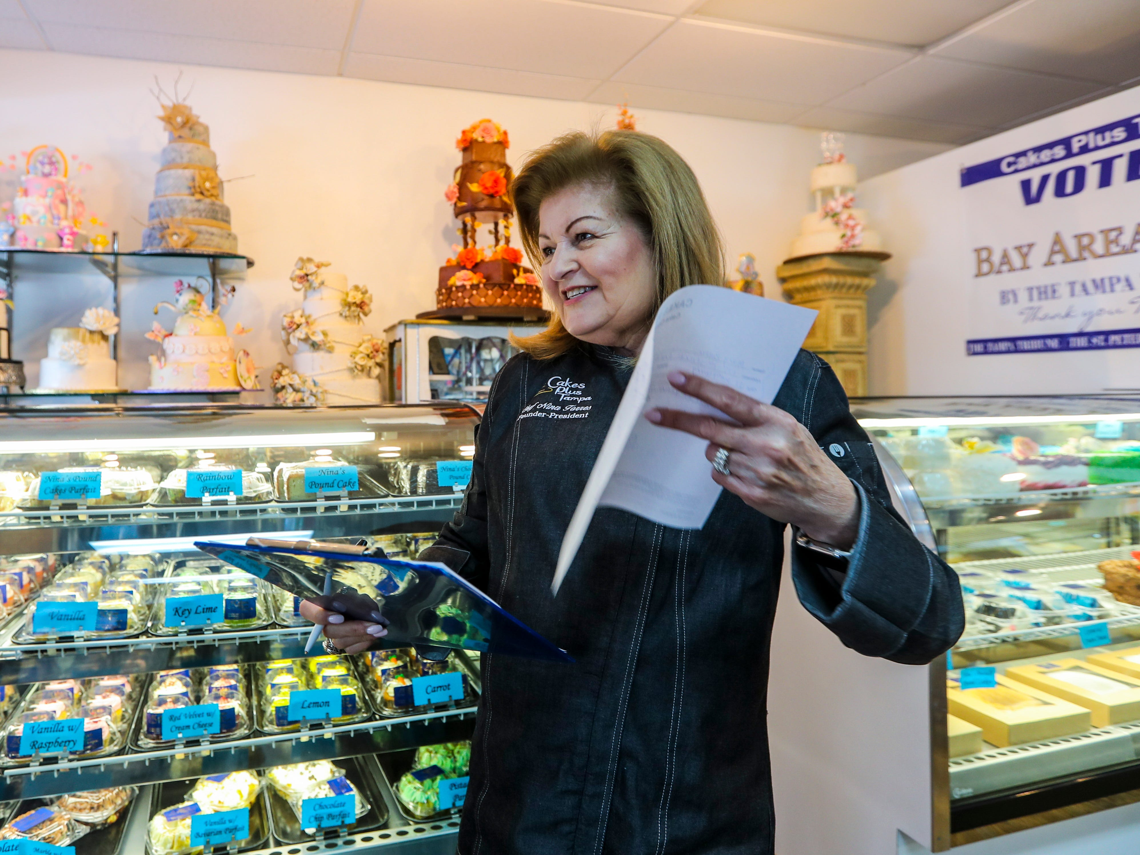 After 26 years, Cakes Plus owner Nina Torres is tasting sweet success