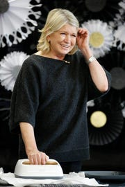"""The Queen of Halloween,"" Martha Stewart, makes spectacularly spooky costumes and party accessories with Cricut and Michaels at a spirited DIY event on October 2, 2018 in New York City."