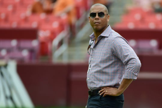 Maryland Terrapins athletic director Damon Evans.