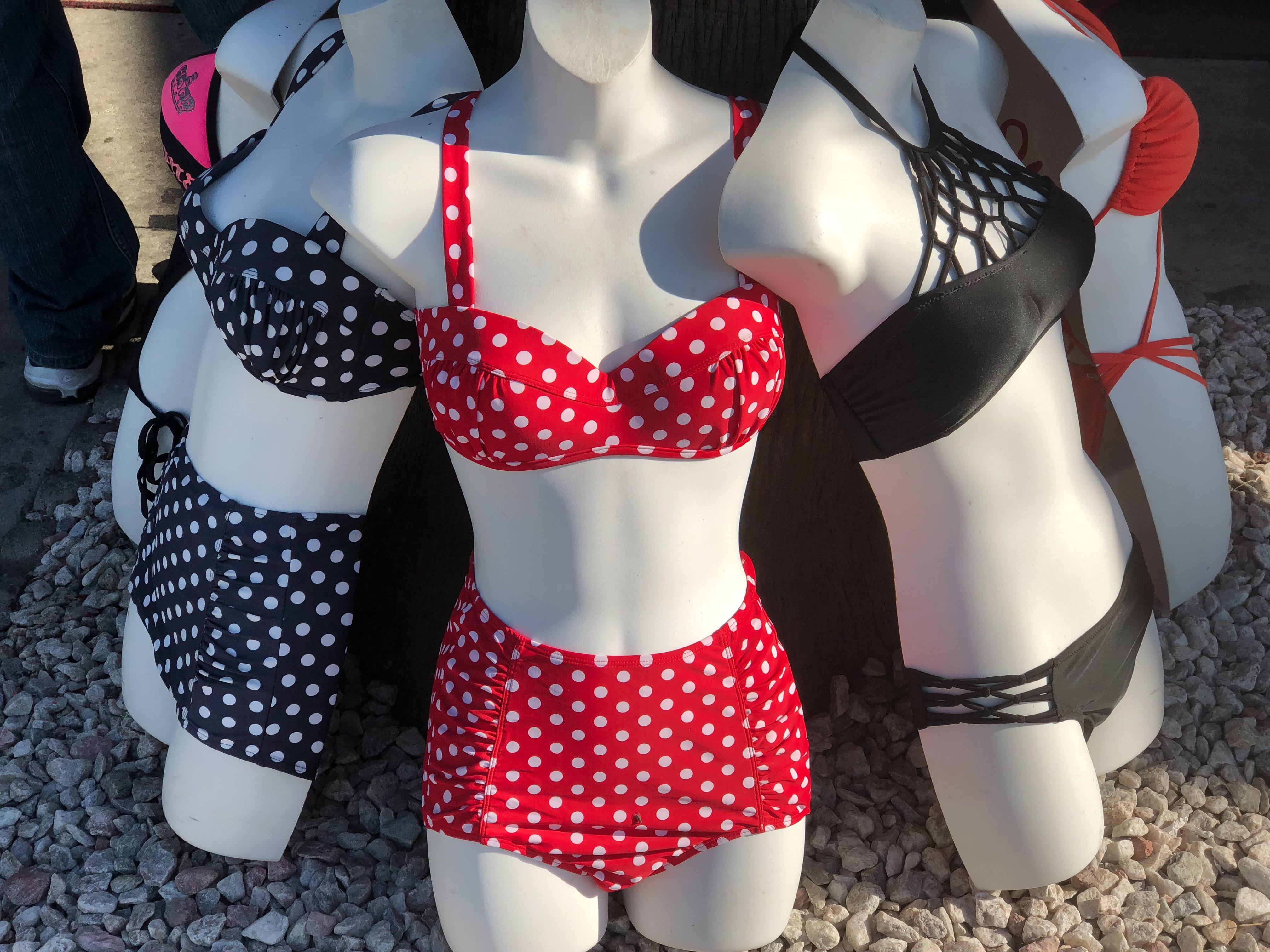 Bikinis for sale.