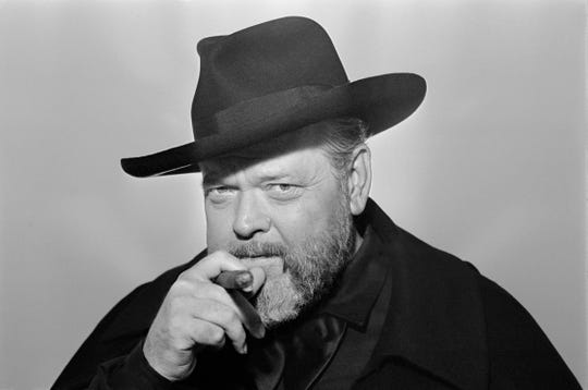 "The documentary ""The Eyes of Orson Welles"" is a portrait of the artist as an artist."