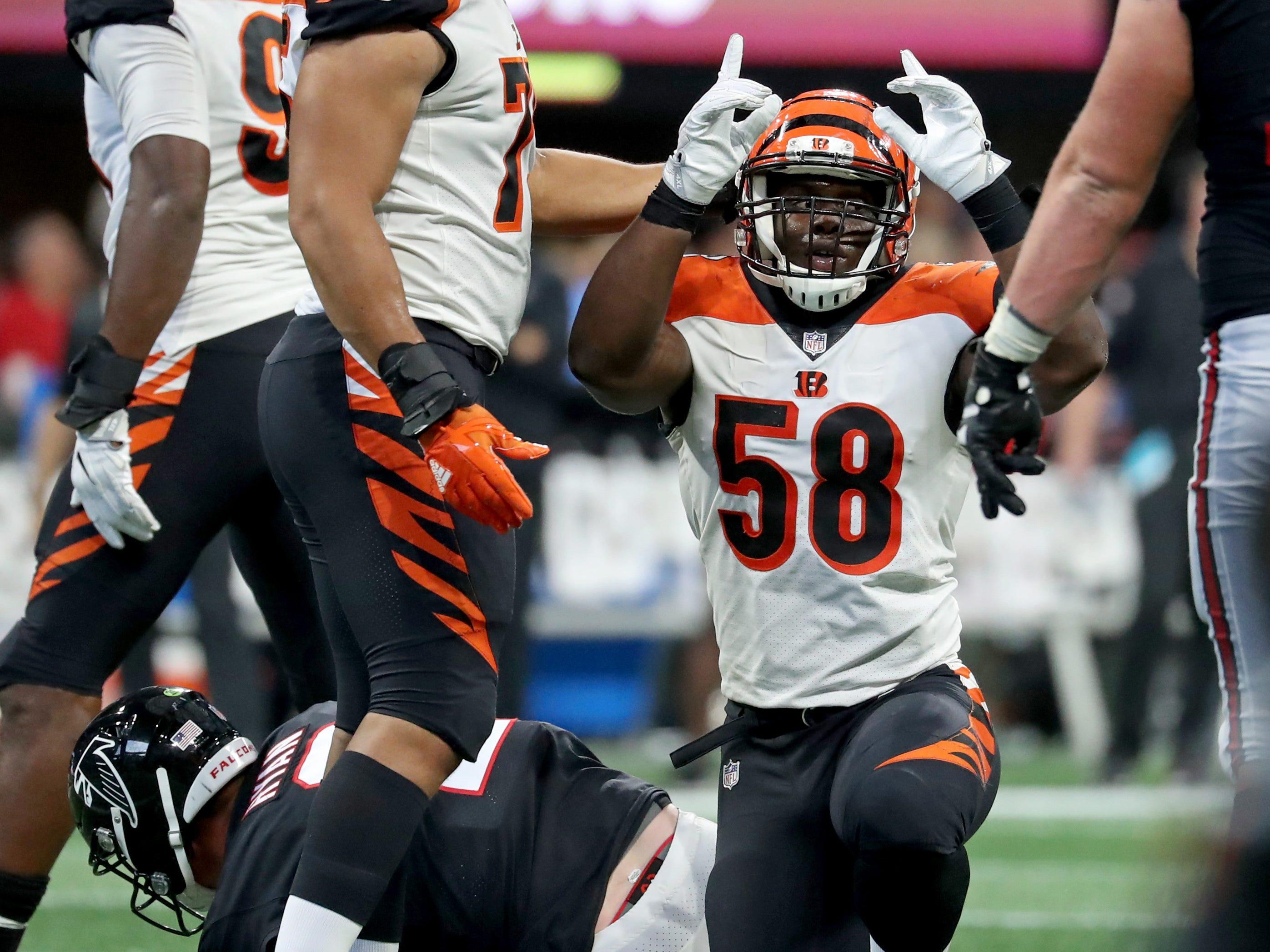 Carl Lawson, DE, Cincinnati Bengals (torn ACL, out for season)