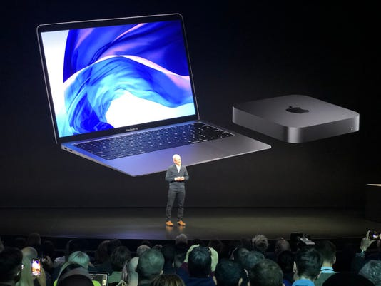 Image result for Apple announces the new MacBook Air, with retina display and recycled aluminum