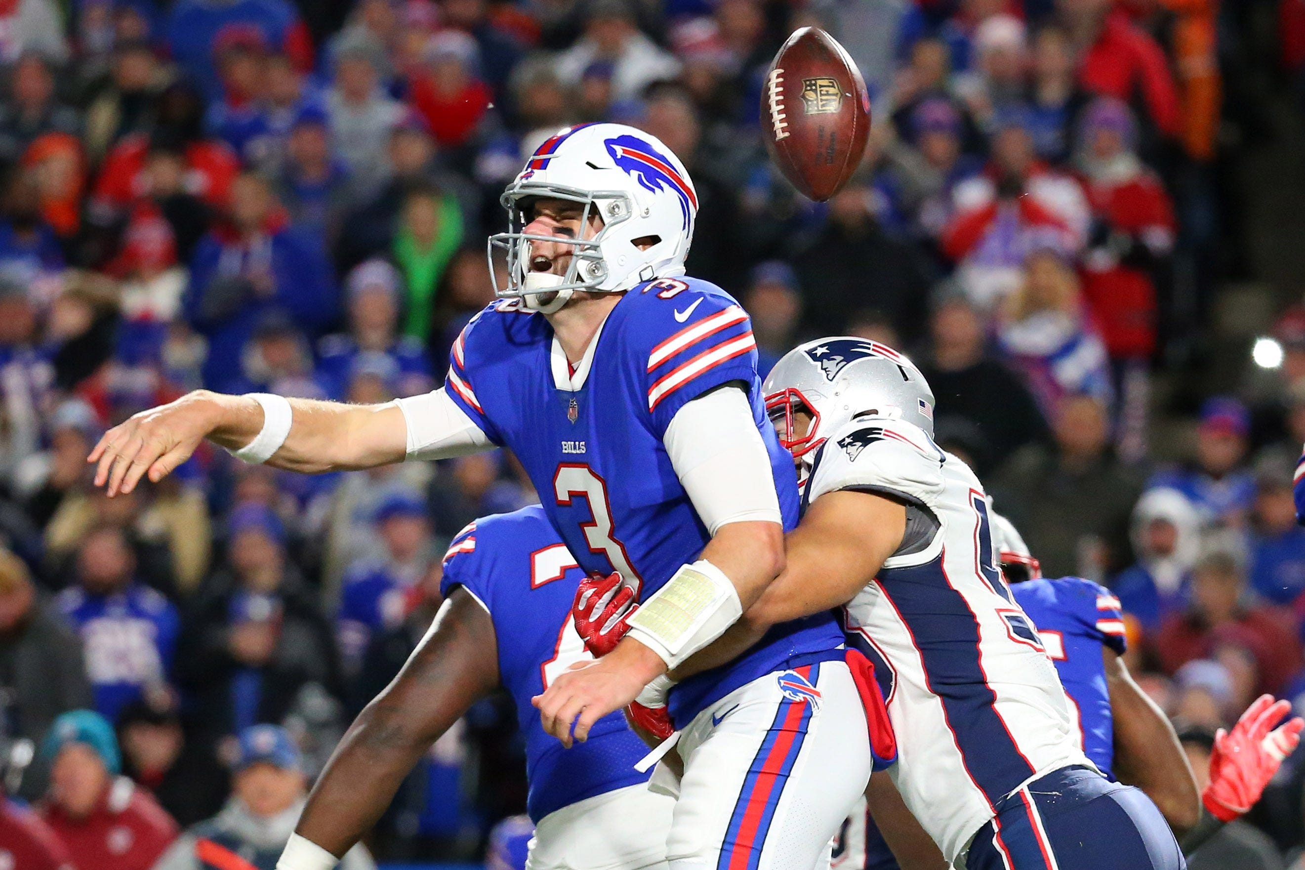 Just another night of offensive misery for Buffalo Bills in loss to New England Patriots