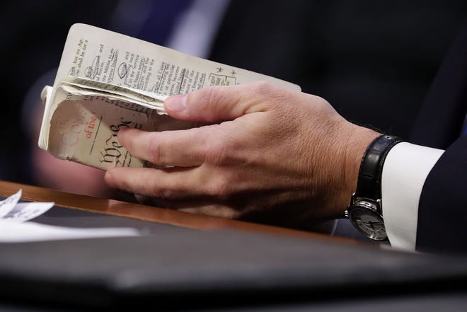 Brett Kavanaugh thumbed through a well-worn, pocket-sized copy of the Constitution during his Supreme Court confirmation hearing last month. President Trump is taking on the Constitution and federal law in his effort to end birthright citizenship.