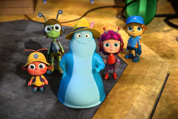 "Stream three season of ""Beat Bugs"" on Netflix."