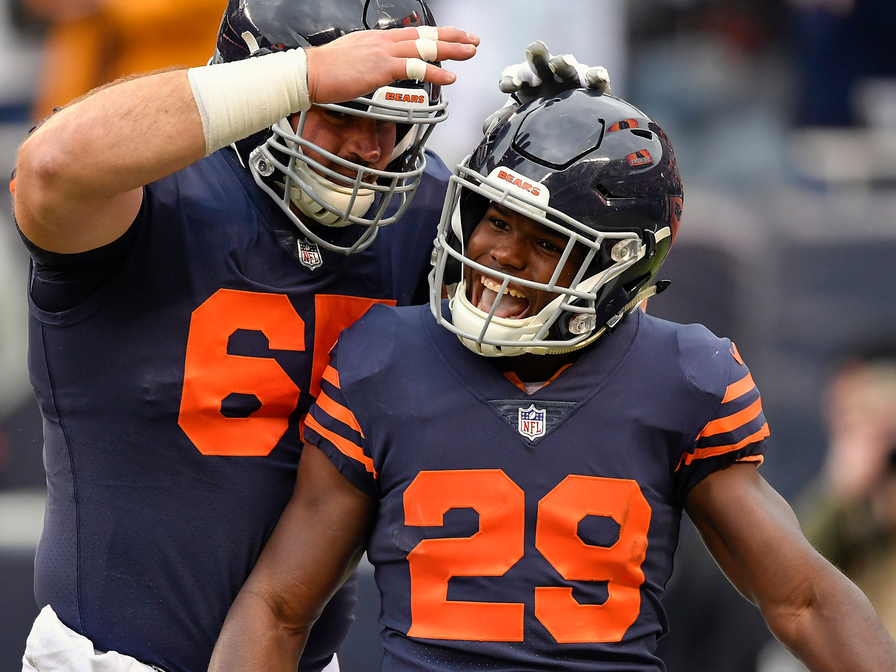 15. Bears (15): Trick — it was starting to look like they might get swept by AFC East until they pulled away from Jets late in fourth quarter Sunday.
