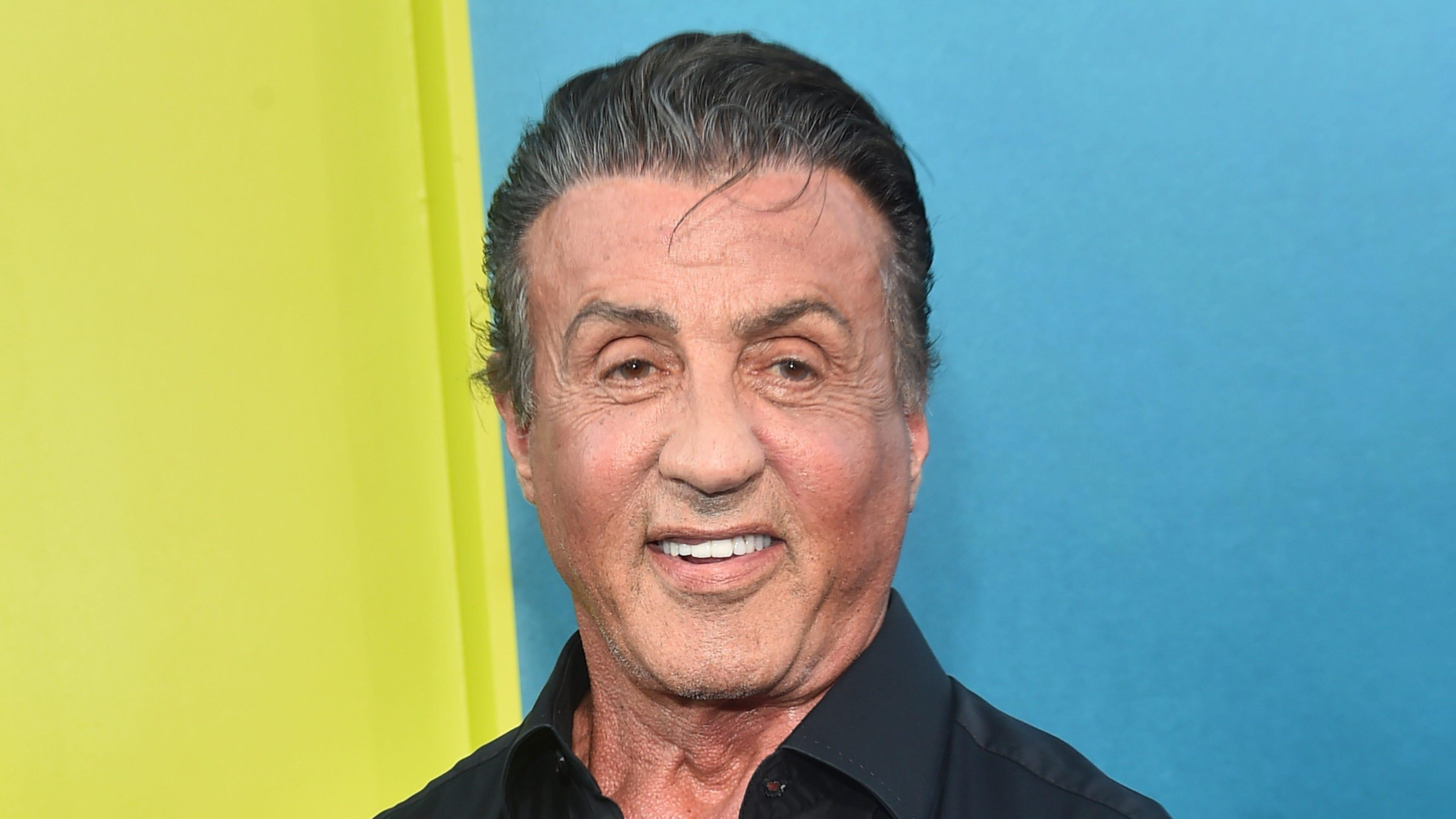 Sylvester Stallone: No...